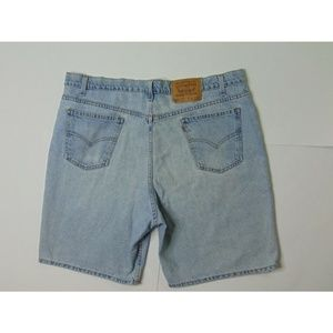 Vintage Levi's 550 40 Relaxed Fit Jeans Shorts